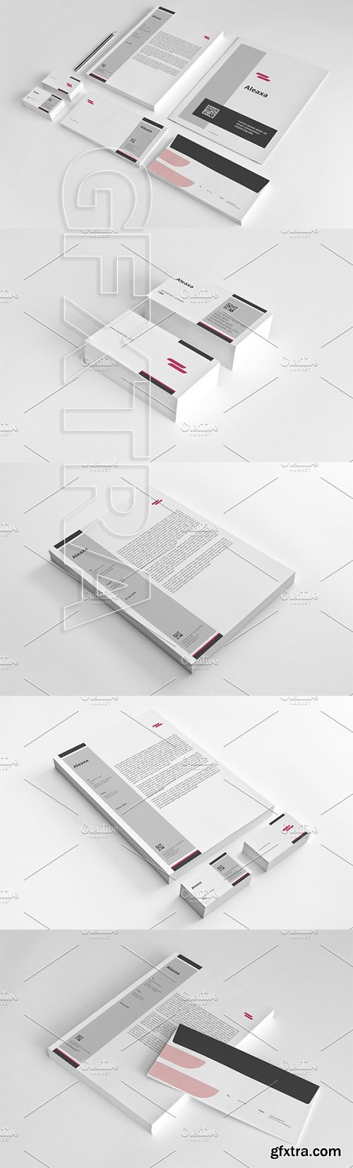 CreativeMarket - Corporate Identity Design Set - V09 3316779