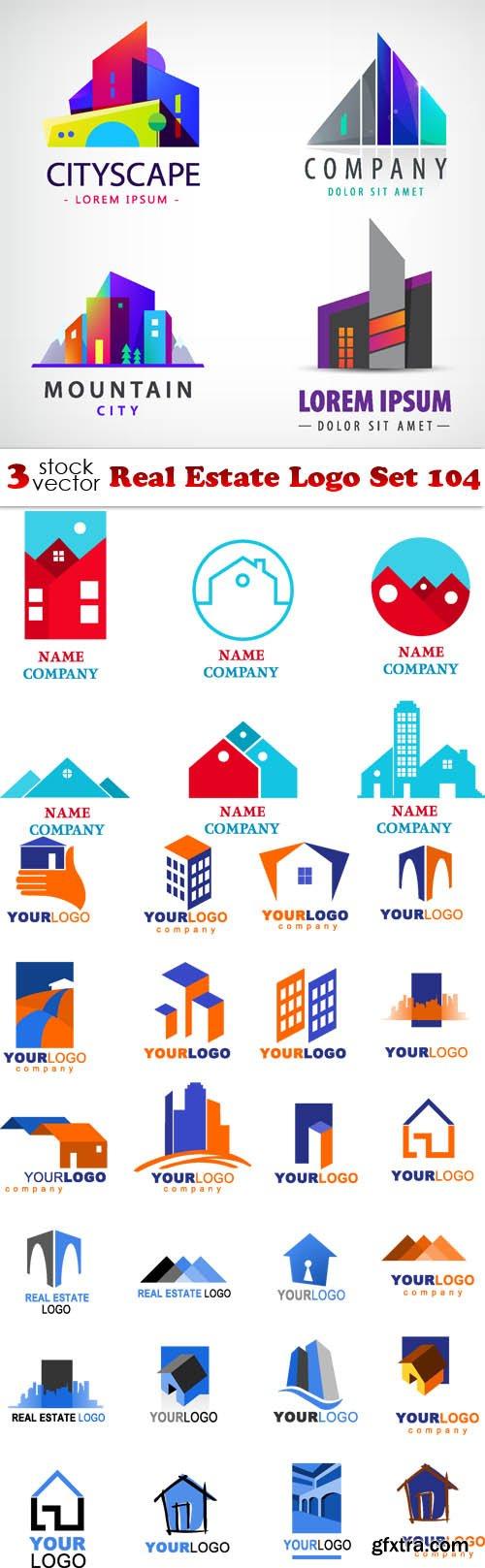 Vectors - Real Estate Logo Set 104
