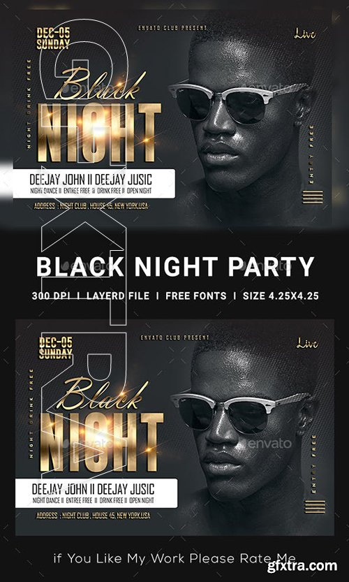 GraphicRiver - Ladies Night Club Flyer 23147649