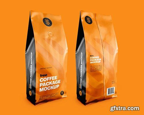 Coffee Package Mockup 001