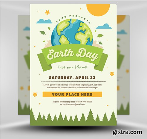 Earth Day Flyer 1