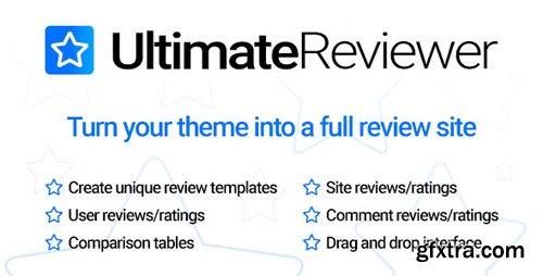 CodeCanyon - Ultimate Reviewer v1.0 - WordPress Plugin - 23101267