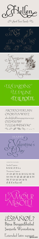 CM - Hellen - Serif Font 3332525