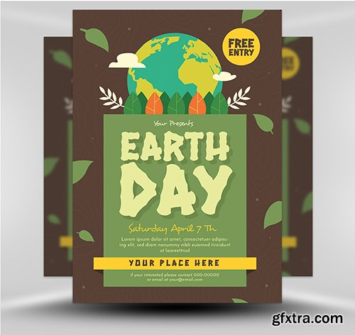 Earth Day Flyer 2