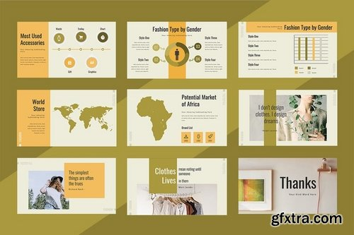 Teracotyle Powerpoint Keynote and Google Slides Templates