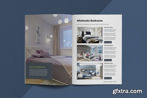 Interior Catalogue Template