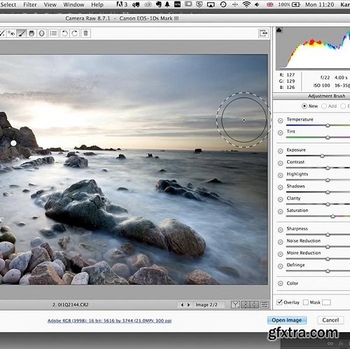 Karl Taylor Photography - Practical Demonstration on Landscape Retouch