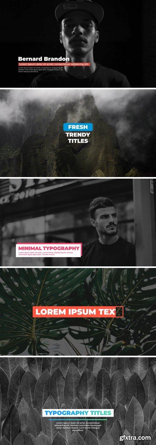 MotionArray Minimal Typography 162619