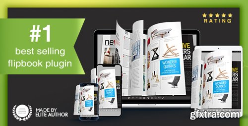 CodeCanyon - Real3D FlipBook v3.6.10 - WordPress Plugin - 6942587