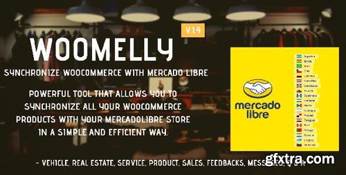 CodeCanyon - Sincroniza Woocommerce con MercadoLibre: Woomelly v1.4.3 - 21688836