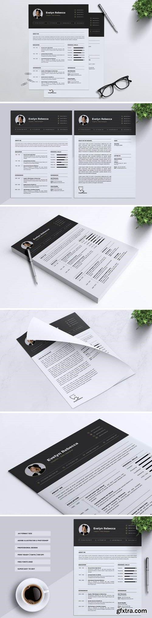 Minimalist CV Resume Vol. 07