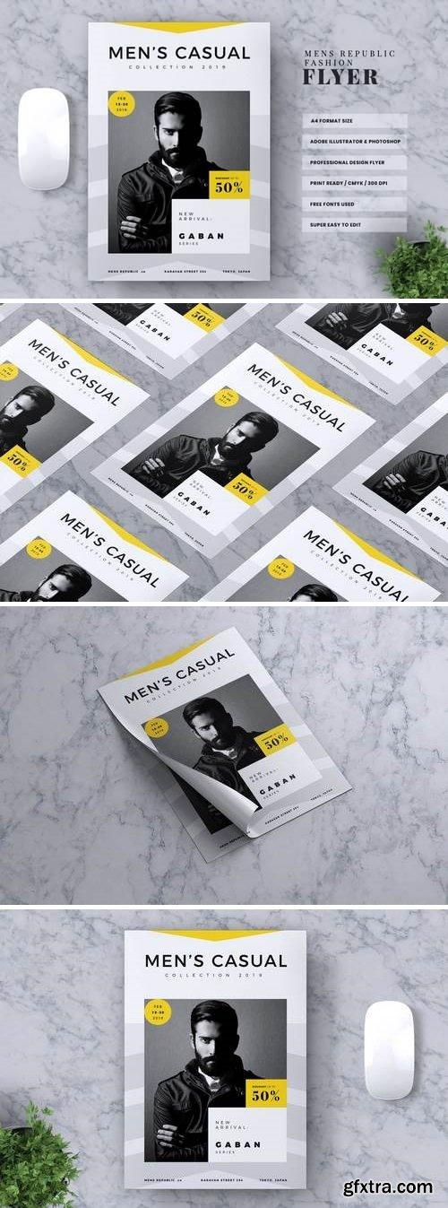 MEN\'S REPUBLIC Fashion Flyer