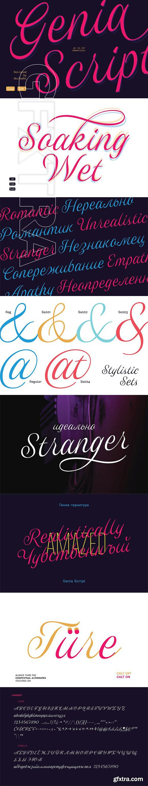 CreativeMarket - Genia Script Typeface 3375467