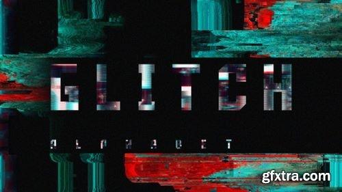 MotionArray Glitch Alphabet 161538