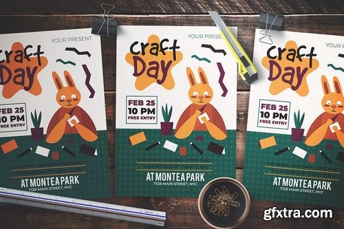 Craft Day Flyer