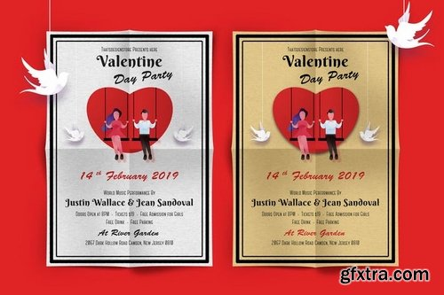 Valentines Day Party Flyer-01