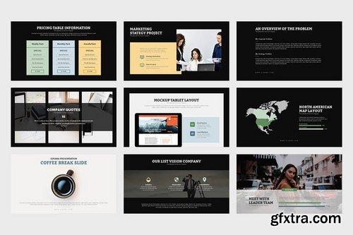 Givana Creative Industry Profile Google Slides