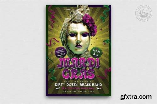 GraphicRiver - Mardi Gras Flyer Template V2 9999711
