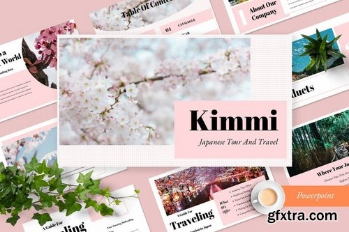 Kimmi Travel - Powerpoint Keynote and Google Slides Templates
