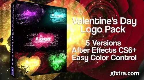 MotionArray Valentine\'s Day Logo Pack 163459