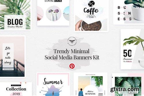 Pinterest Social Media Template - 3JM2GJ