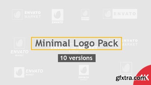 Videohive - Minimal Logo Pack | 10 Versions - 20479756