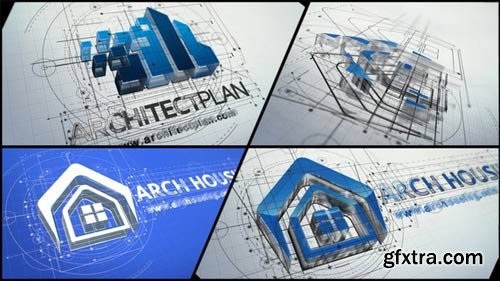 Videohive - Architect Logo Reveal - 22143007
