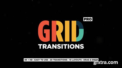 Videohive - Grid Transitions - 23154591