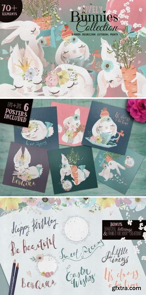 CM - Lovely Bunnies Collection 2227677