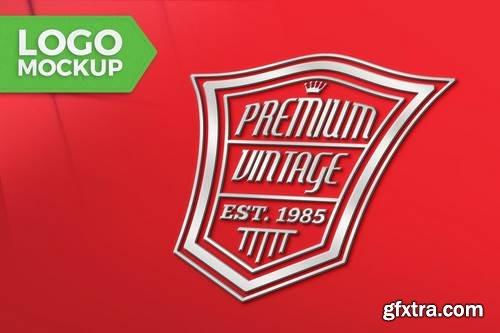 Red Logo Mock-Up