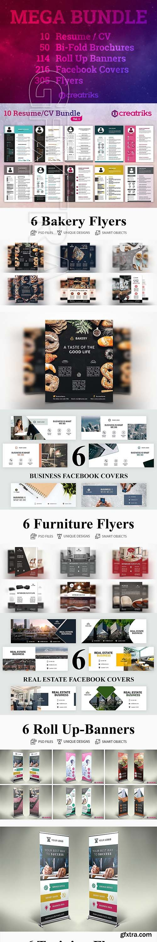 CreativeMarket - MEGA BUNDLE 3350369