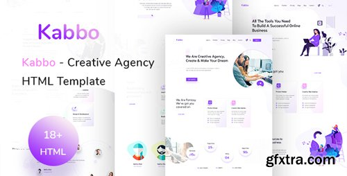 ThemeForest - Kabbo v1.0 - Creative Agency HTML Template - 23071136