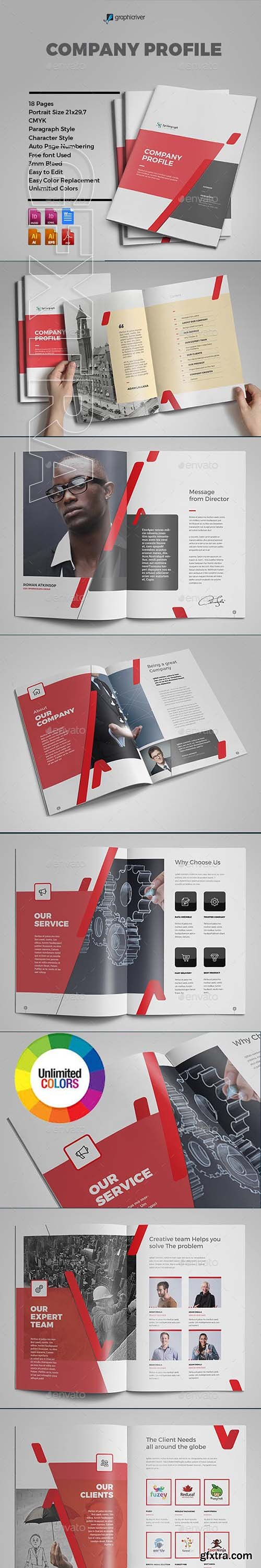 GraphicRiver - Company Profile 22949304
