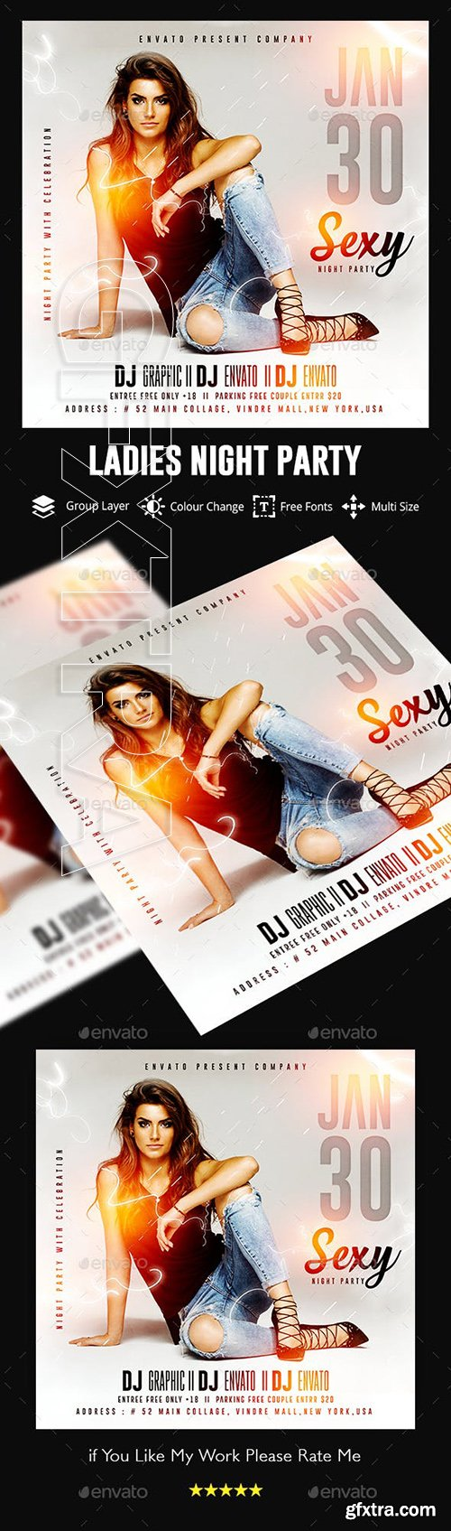 GraphicRiver - Guest Dj Night Flyer Template 23126759