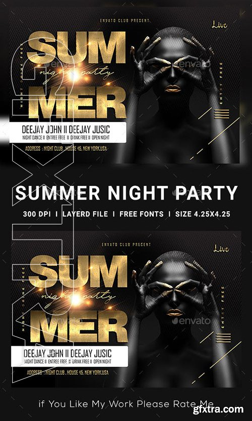 GraphicRiver - Summer Flyer 23134984