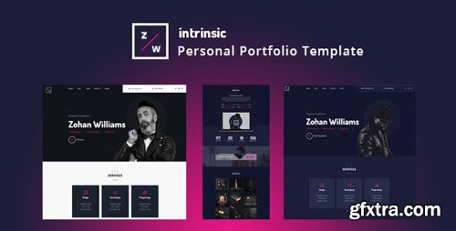 ThemeForest - Intrinsic v1.0 - Creative Personal Portfolio HTML5 Template - 23051899