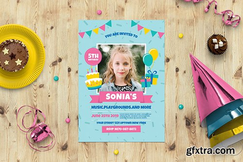 Birtyhday Party Invitation
