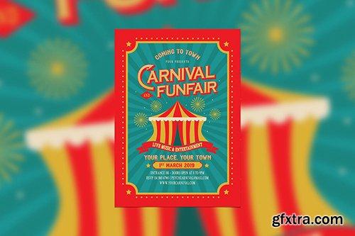 Vintage Carnival and Funfair