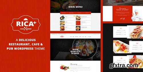 ThemeForest - Rica Plus v1.7 - A Delicious Restaurant, Cafe & Pub WP Theme - 17443393