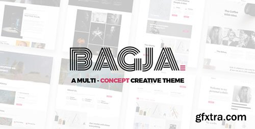 ThemeForest - Bagja v1.2.3 - Responsive Multi Concept & One Page Portfolio Theme - 21442663