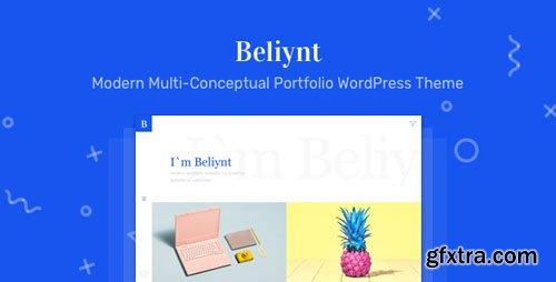 ThemeForest - Beliynt Lite v1.0.2 - Modern Multi-Conceptual Portfolio WordPress Theme - 21835550