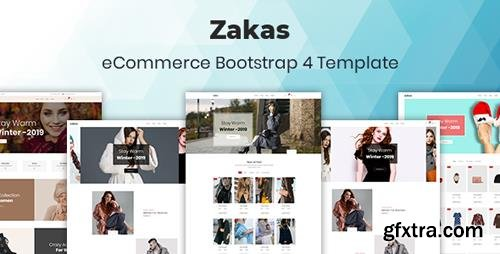 ThemeForest - Zakas v1.0 - Fashion eCommerce Template - 23161355