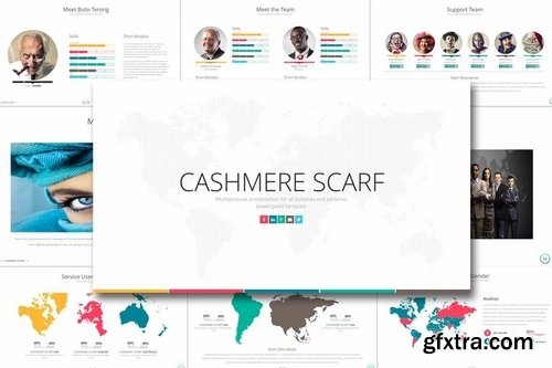 CASHMERE SCARF Powerpoint