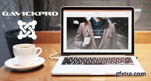GavickPro - Stora v1.0.2 - eCommerce Joomla Template