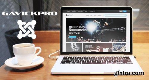GavickPro - Rockwall v3.25 - Music Joomla Template