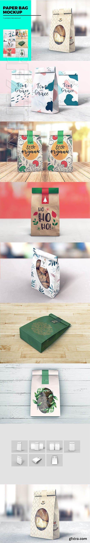 CreativeMarket - Paper Bag MockUp 3328160