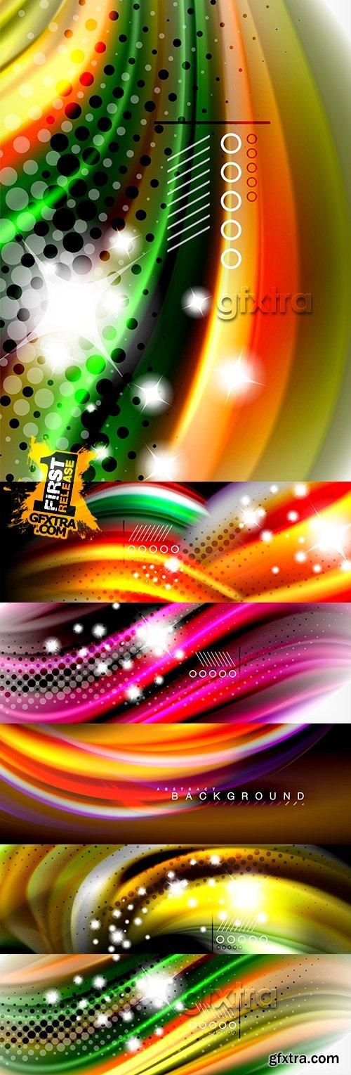 Modern colourful dynamic elegant background design