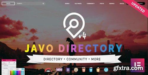 ThemeForest - Javo Directory v4.0.4 - WordPress Theme - 8390513
