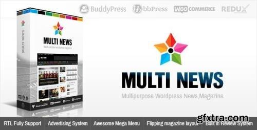 ThemeForest - Multinews v2.6.4 - Multi-purpose WordPress News,Magazine - 8103494