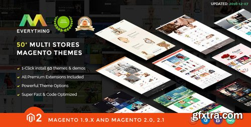 ThemeForest - Magento 2 Themes & Magento 2.2, 2.1, 1.9 - 50+ Templates - Multi-Purpose Responsive - EVERYTHING (Update: 3 October 18) - 12243332